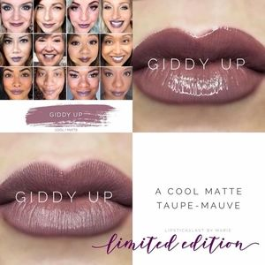 Limited edition lipsense color giddy up